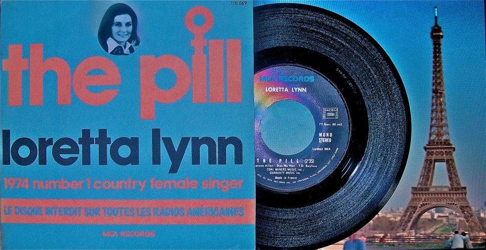 The Pill Pic Sleve 45 Paris 1976